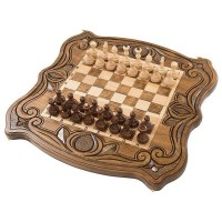 Шахматы + нарды резные 50, am451, Mirzoyan
