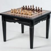 Шахматный стол  с фигурами «Консул Люкс»